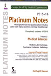 Platinum Notes Medical Sciences 2015-16 Volume 2