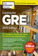 Cracking the GRE 4 Practice Tests Included