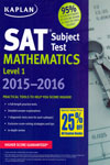 SAT Subject Test Mathematics Level 1 2015-2016