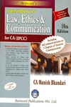 A Handbook on Law Ethics and Communications For CA PCC and IPCC
