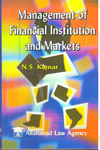 Management of Financial Institution and Markets