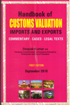 Handbook of Customes Valuation Imports and Exports
