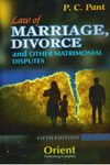 Law of Marriage Divorce and Other Matrimonial Disputes