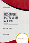 Law Relating to Negotiable Instruments Act 1881 With Model Forms