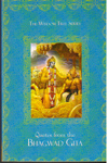 Quotes from the Bhagwad Gita Pocket Size