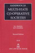 Handbook of Multi State Co Operative Societies