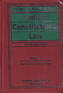 Indian Constitutional Law in 2 Vols