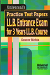 Practice Test Papers LL B Entrance Exam for 3 Years LL B Course