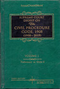 Supreme Court Digest on the Civil Procedure Code 1908 (1950-2016) In 2 Vols