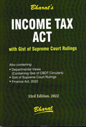 Income Tax Act With Gist of Supreme Court Rulings Pocket Size