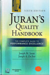 Jurans Quality Handbook The Complete Guide to Performance Excellece