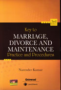 Key to Marriage Divorce and Maintenance Practice and Procedures