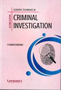 Scientific Techniues of Criminal Investigation