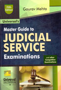 Master Guide to Judicial Service Examinations and Other Competitive Examinations