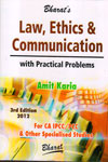 Law Ethics and Communication With Practical Problems For CA IPCC/PCC and Other Specialised Studies