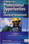 A Manual on Professional Oppurtunities For Chartered Accountants In 2 Vols
