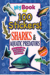 My Book of 100 Stickers Sharks and Aquatic Predators