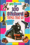 My Book Of 100 Stickers Things That Go