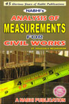 Analysis of Measurements for Civil Works