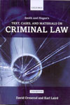 Smith and Hogans Text Cases and Materials On  Criminal Law