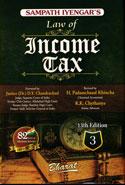 Law of Income Tax Vol 3