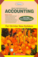 Ready Referencer on Accounting for CA Inter New Syllabus