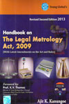 Handbook on The Legal Metrology Act 2009 With Latest Amendments on the Act and Rules