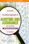 Simplified Approach to Auditing and Assurance for CA IPCC Including Revised Schedule VI