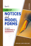 Law of Notices and Model Forms Alongwith Summons and Warrants