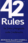 42 Rules to Town Prospects Into Customers