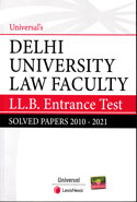Delhi University Law Faculty LLB Entrance Test Solved Papers