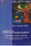 Portfolio Management Including Security Analysis