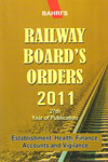 Railway Boards Orders 2011