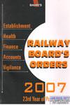 Railway Boards Orders 2007