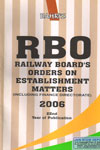 Railway Boards Orders on Establishment Matters Including Finance Directorate 2006