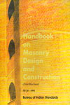 Handbook on Masonry Design and Construction SP 20 1991