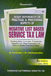 Ready Referencer on Practical and Procedural Aspects of Negative List Based Service Tax Law