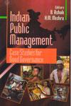 Indian Public management Case Studies For Good Givernance