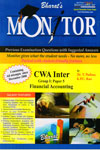 Monitor Previous Examination Questions with Suggested Answers for CWA Inter Group I paper 5 Financial Accounting