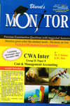 Monitor Previous Examination Questions with Suggested Answers for CWA Inter Group II paper 8 Cost and Management Accounting