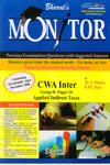 Monitor Previous Examination Questions with Suggested Answers for CWA Inter Group II Paper 10 Applied Indirect Taxes