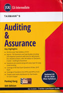 Auditing and Assurance for CA Intermediate
