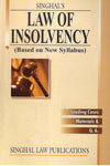 Law of Insolvency Based on New Syllabus