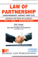 Law of Partnership Based on New Syllabus