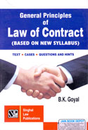 General Principles of Law of Contract Based on New Syllabus