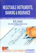Negotiable Instruments Banking and Insurance