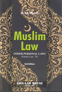 Muslim Law Other Personal Laws Family Law II