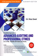 Simplified Approach to Advanced Auditing and Professional Ethics for CA Final