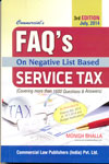 FAQs On Negative List Based Service Tax