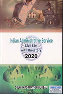 Indian Administrative Service Civil List With Directory 2020